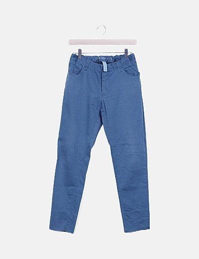 Jeans turquesa