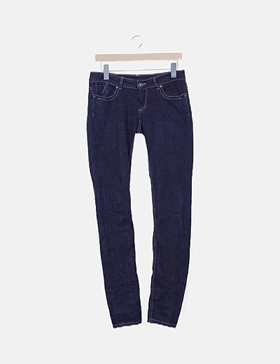 Jeans skinny oscuro