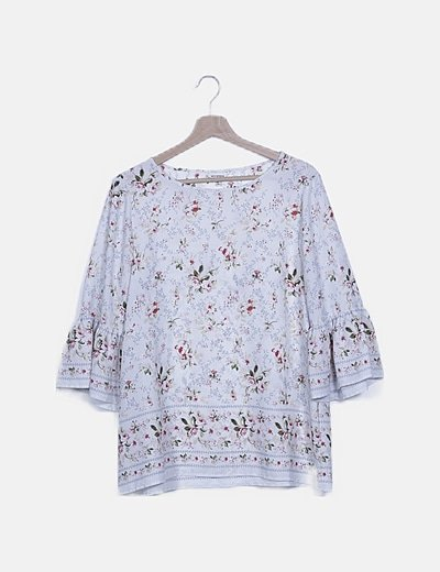 Blusa cruda floral