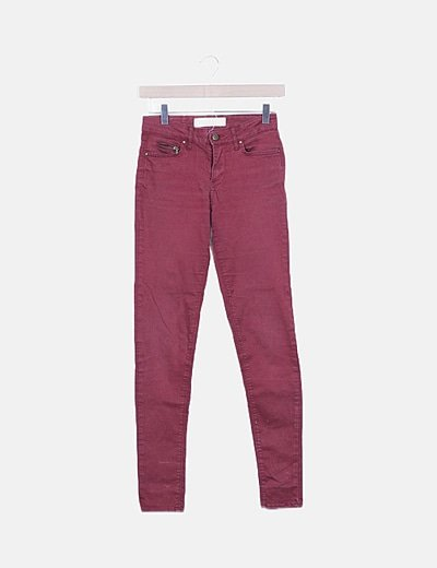 Jeans rojo