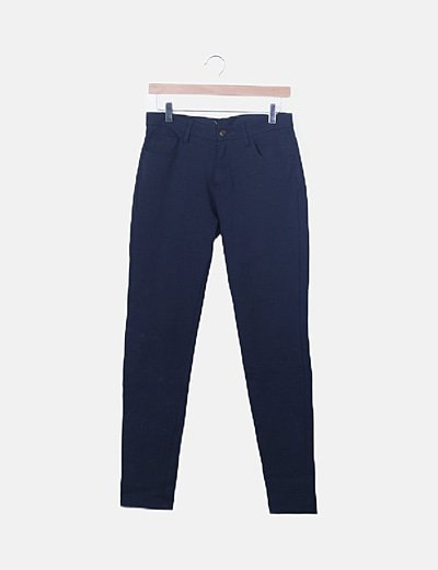 Jeans skinny azul marino