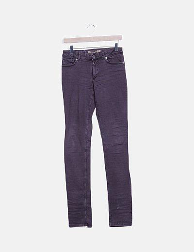 Jeans skinny morado