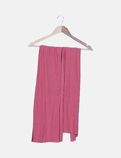 Foulard fluido rosa