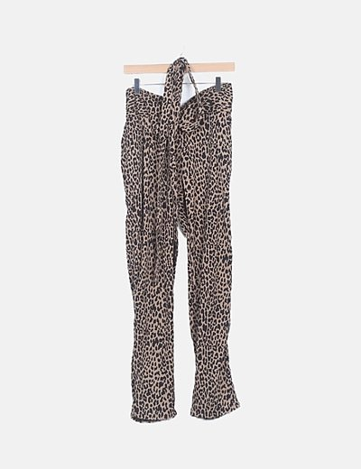 Pantalón baggy animal print
