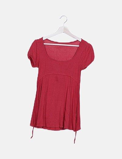 Camiseta fluida roja