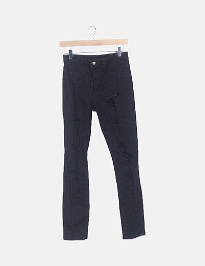 Jeans denim ripped pirtillo