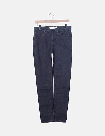 Jeans gris estampado