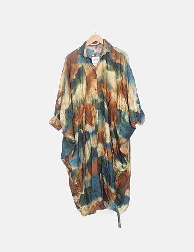 Vestido multicolor oversize