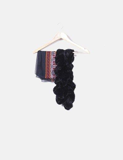 Conjunto bufanda y pañuelo
