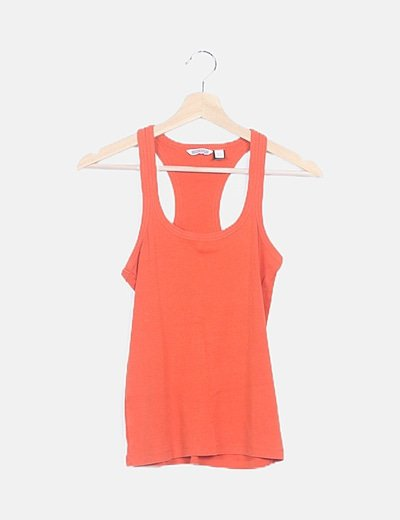 Camiseta naranja nadadora