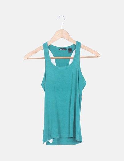 Camiseta nadadora verde