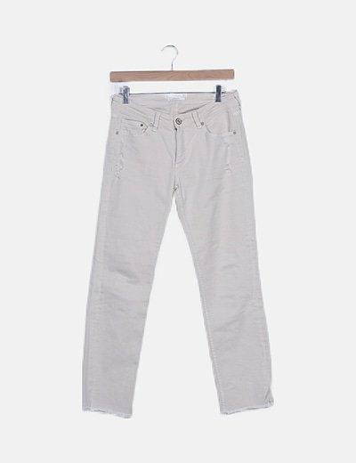 Pantalón pitillo ripped