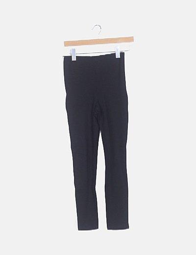 Legging negro raya blanca lateral