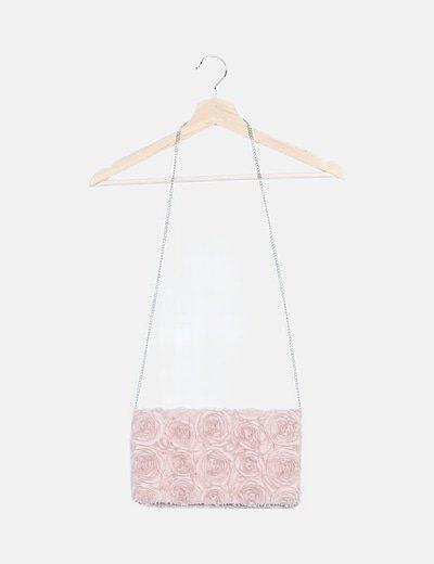 Bolso rosa de mano