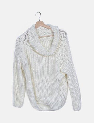 Jersey lana blanco