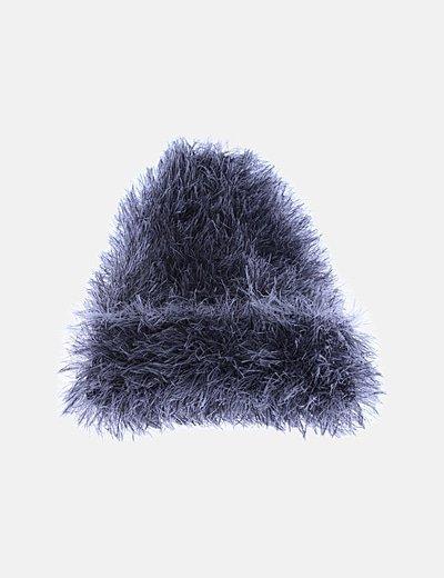 Gorro gris pelo