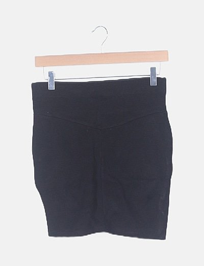 Mini falda negra ceñida