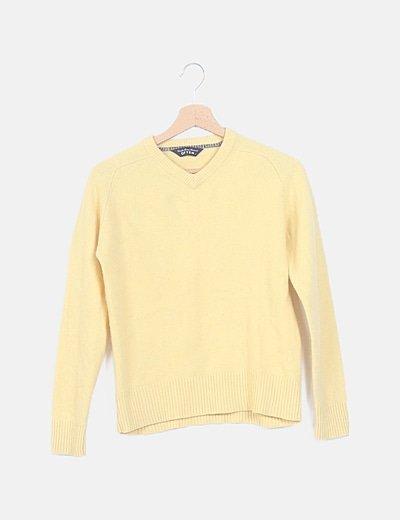 Jersey lana amarillo