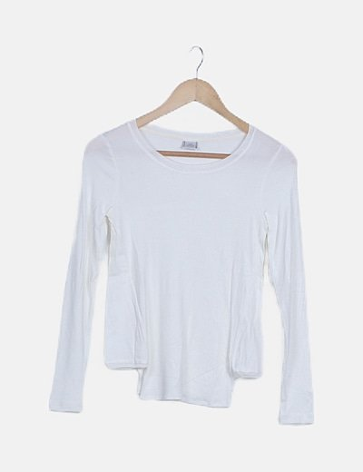 Jersey tricot blanco irisado