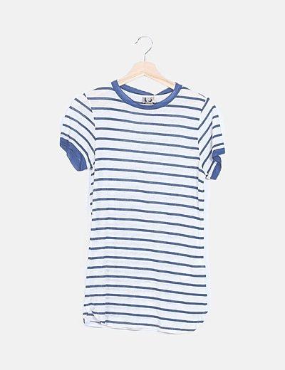 Camiseta hilo navy