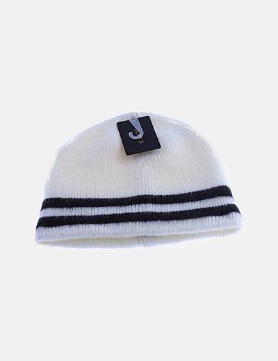 Gorro blanco tricot