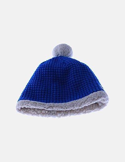 Gorro crochet bicolor