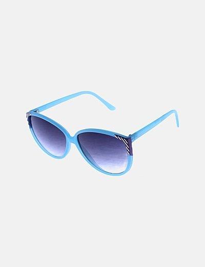 Gafas de sol montura turquesa