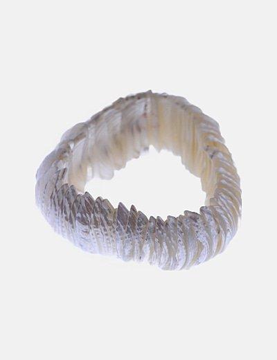 Pulsera blanca conchas