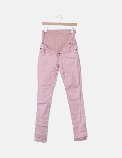 Pantalón premamá rosa