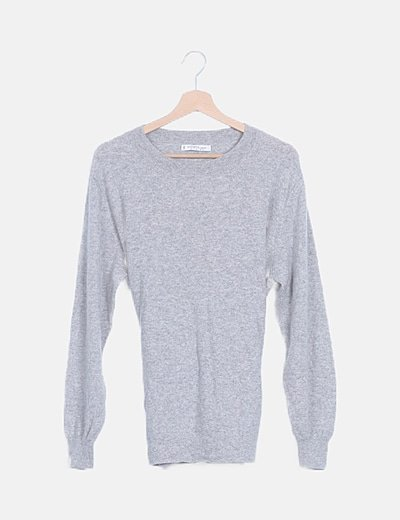 Jersey cashmere gris