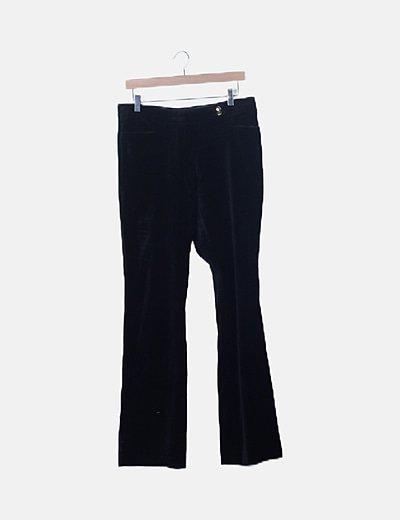 Pantalón negro velvet