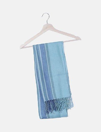 Foulard azul combinado