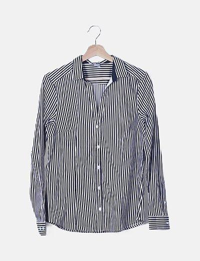 Camisa bicolor de rayas