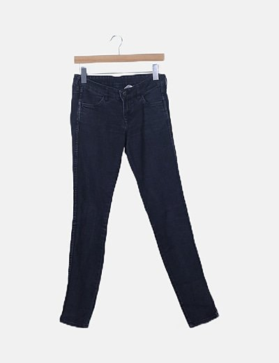 Jeans negros pitillo
