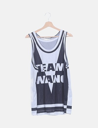 Camiseta de basket Team wang