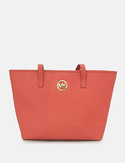 Bolso shopper rojo