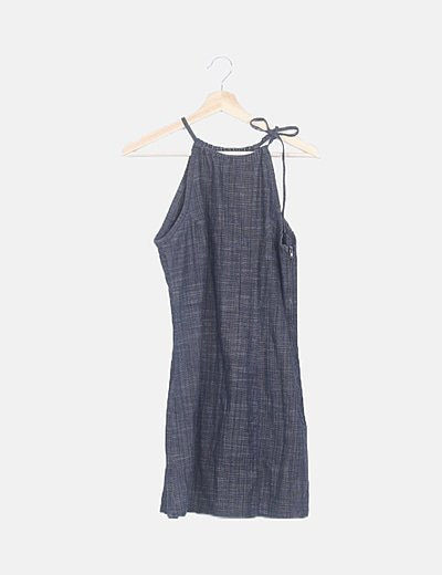 Vestido mini denim
