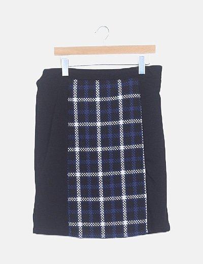 Minifalda tweed