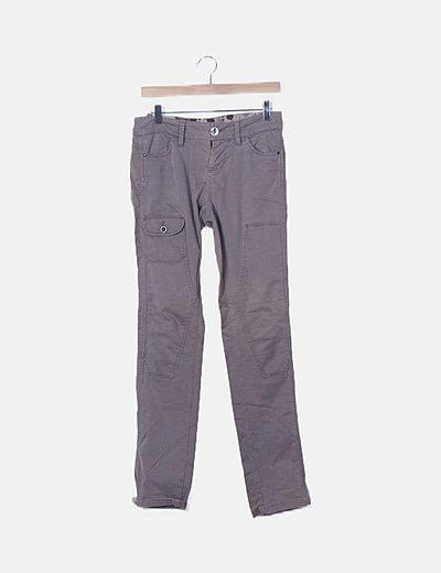 Jeans taupé skinny