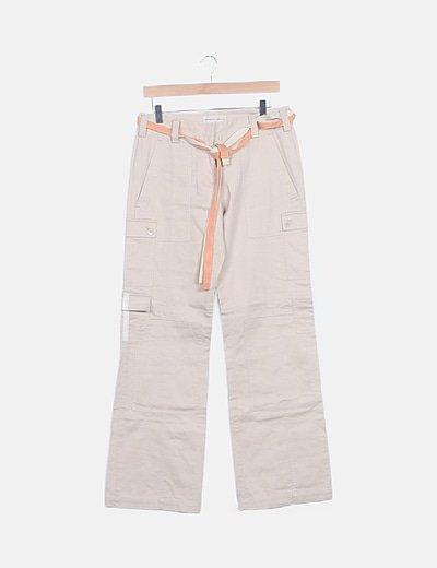Pantaloni dritti Purificación García