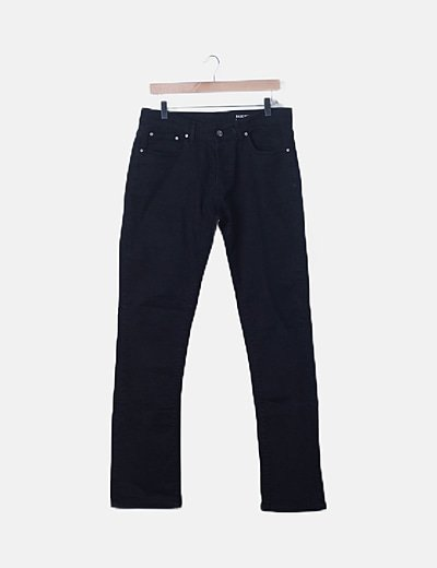 Inside straight trousers