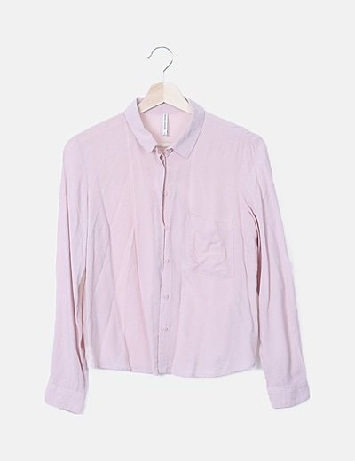 Camisa rosa básica