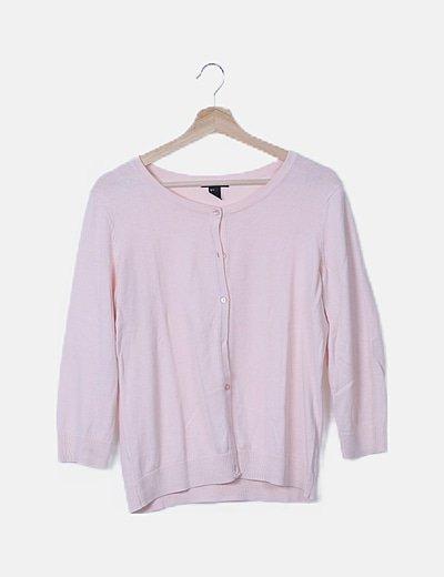 Jersey punto básico rosa claro