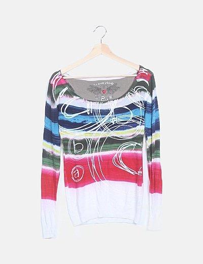 Jersey tricot multicolor
