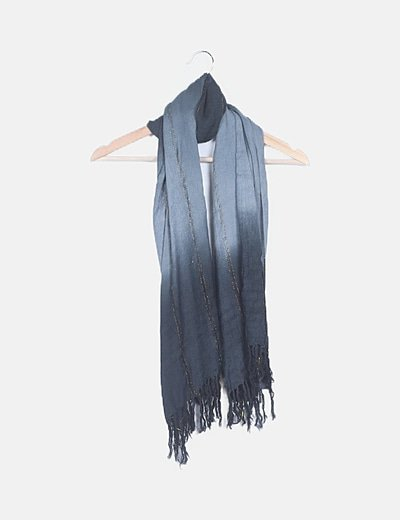 Foulard gris combinado