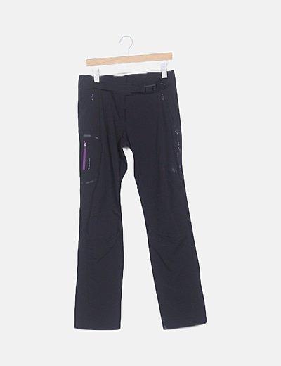 Pantalón treckking negro