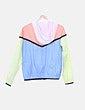Chubasquero multicolor con capucha Pull&Bear