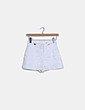 Short blanco combinado Zara