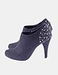 Zapato abotinado negro tacahas Graceland