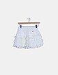 Mini falda blanca volante Hollister